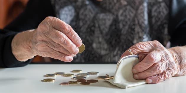 5,6 milioni di pensionati più poveri
