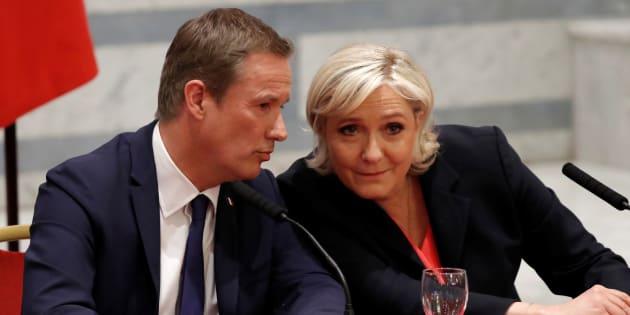 Nicolas Dupont-Aignan, clé de la réussite du Rassemblement national de Marine Le Pen.