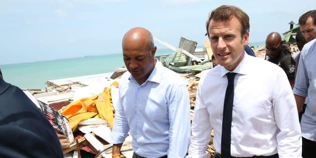 Après Irma Macron veut faire des Antilles le symbole de son action écolo