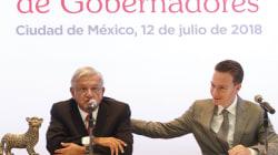 Manuel Velasco sale a defender a AMLO del