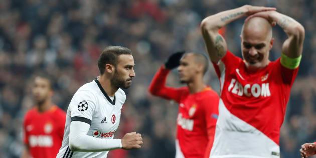 En Ligue des champions, Monaco se rapproche de la sortie après un nul à Besiktas le 1er novembre 2017.