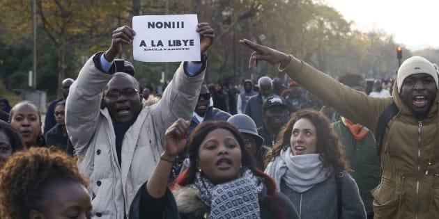 Un millier de manifestants défilent à Paris contre l'esclavage en Libye