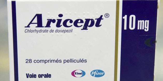 BERTRAND GUAY  AFP                       L'Aricept fait partie des quatre médicaments qui devraient être déremboursés avec Ebixa Exelon et Reminyl
