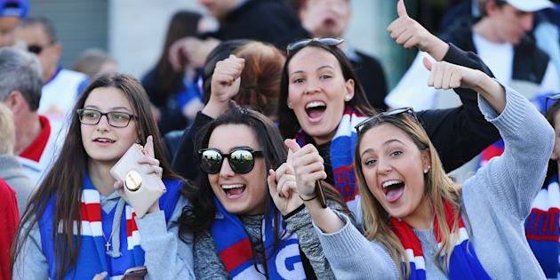 Western Bulldogs fans en-route to Sydney have a great reason to get excited for their team,