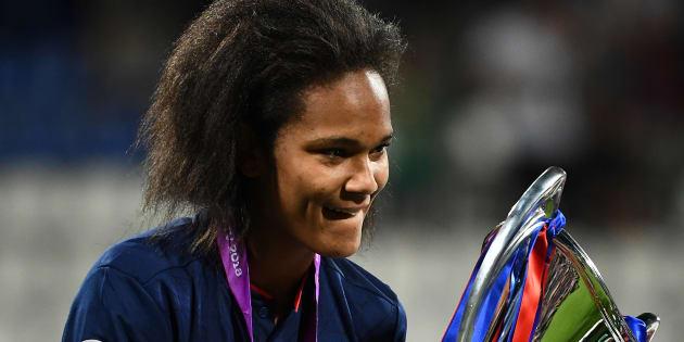 Ballon d'Or 2018: Trois footballeuses françaises (dont Wendie Renard, ici le 24 mai à Kiev) en lice pour le premier prix féminin.