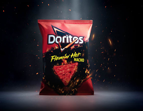 Doritos releases new Flamin' Hot Nacho flavor