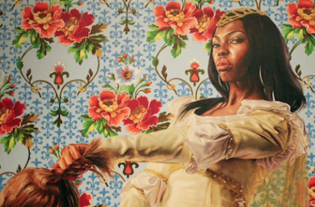 Obama portrait artist Kehinde Wiley once painted black women
