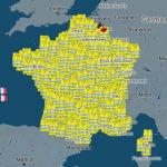 La carte des 1500 manifestations des gilets jaunes prévues ce