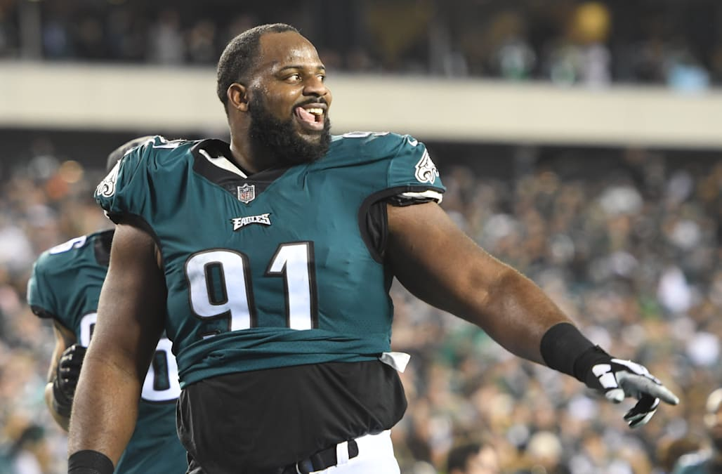 new style 6b1e6 e595f Eagles player Fletcher Cox claims he's never watched the ...