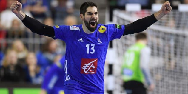 Les Français (ici Nikola Karabatic le 20 janvier) se sont qualifiés pour les demi-finales du Mondial de handball ce 21 janvier.