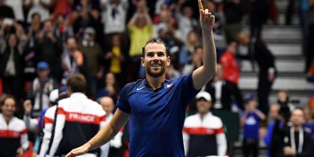 Adrian Mannarino envoie la France en quart de la Coupe Davis