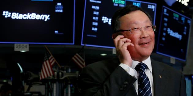John Chen, PDG de BlackBerry.