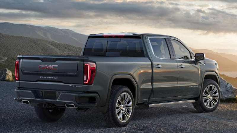 New GMC Sierra gets a trick tailgate and a carbon-fiber ...