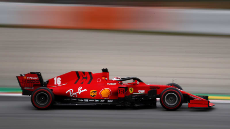 Ferrari F1 Car Getting Redesigned On The Fly Autoblog