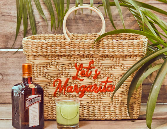 Straw bags that take you from the beach to the bar