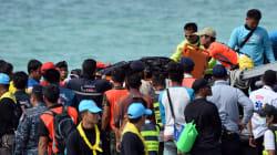 Naufrage en Thaïlande: au moins une trentaine de
