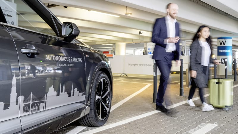 photo image VW to introduce autonomous parking in 2020