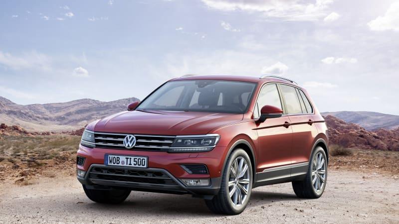 2019 VW Touareg: Larger, Lighter, Smarter, Agiler >> Vw Tiguan Grows Up Gets Bigger Autoblog