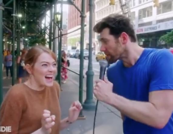 'Billy on the Street' returns with Emma Stone