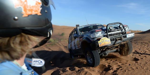 """La 25ème édition du """"Rallye Aïcha des Gazelles"""" le 31 mars 2015 au Maroc."""