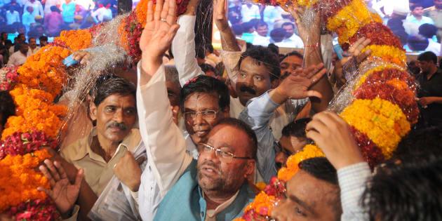 Former Bahujan Samaj Party leader Swami Prasad Maurya.