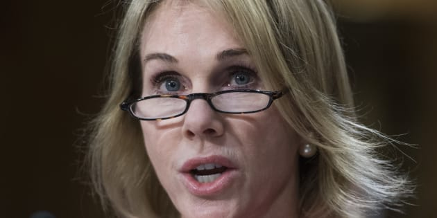 Kelly Knight Craft, newly confirmed ambassador to Canada, attends her Senate Foreign Relations Committee confirmation hearing on July 20, 2017.