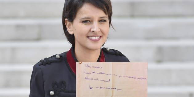 Najat Vallaud-Belkacem a reçu une requête de la part d'un écolier (et on le comprend tous)