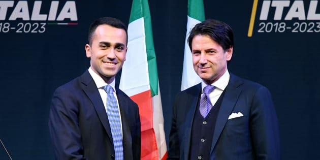 Le CV truqué de Giuseppe Conte (à droite) va-t-il déjà faire exploser le futur gouvernement antisystème en Italie?