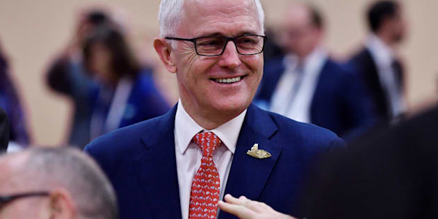 The PM will address Liberal Party faithful on Saturday.