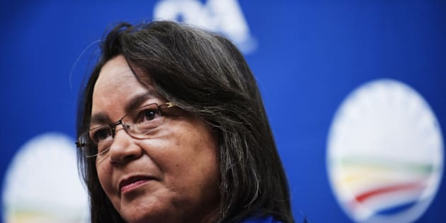 Axed Cape Town mayor Patricia de Lille.