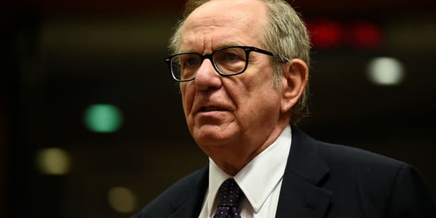 Italian Minister of Economy and Finance Pier Carlo Padoan looks on before an Economic and Financial Affairs meeting at the EU headquarters in Brussels on November 7, 2017. / AFP PHOTO / JOHN THYS        (Photo credit should read JOHN THYS/AFP/Getty Images)