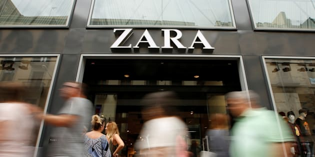 Good news for Zara fans -- the company received an 'A'.