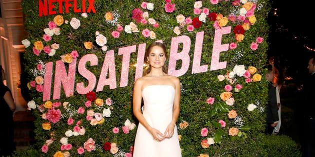 """Debby Ryan, protagonista de la serie de Netflix """"Insaciable""""."""