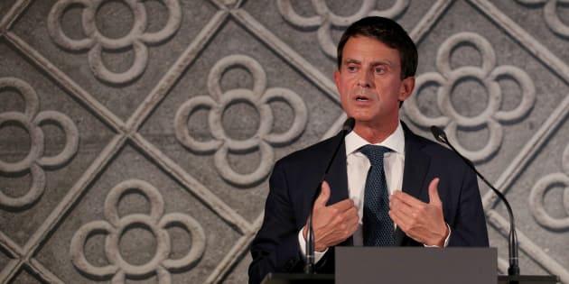 Manuel Valls a annoncé qu'il était candidat pour devenir maire de Barcelone.
