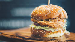 Easy Crispy Fried Chicken Burgers With Sesame Mayo And