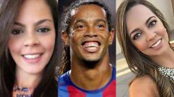 Ronaldinho se casa en agosto con dos mujeres a la