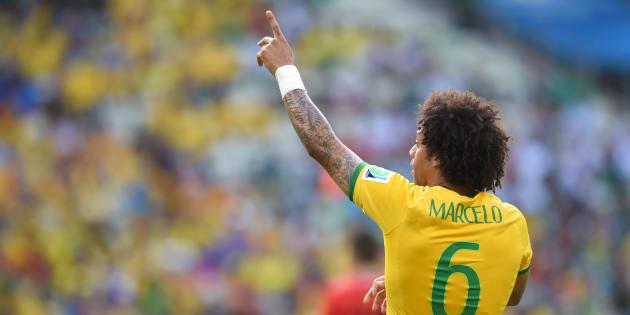 Marcelo é válvula de escape importante para a Seleção quando os craques estão marcados.