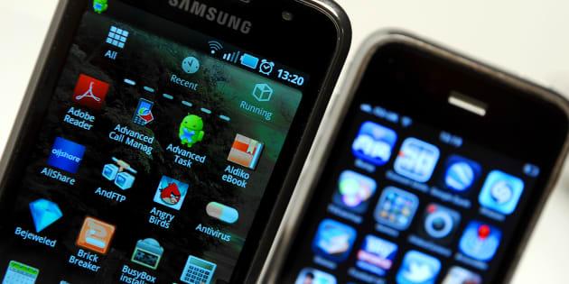 Apple et Samsung règlent une dispute vieille de sept ans sur l'iPhone.