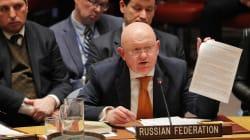 La Russie échoue lors d'un vote à l'ONU à faire condamner les frappes en