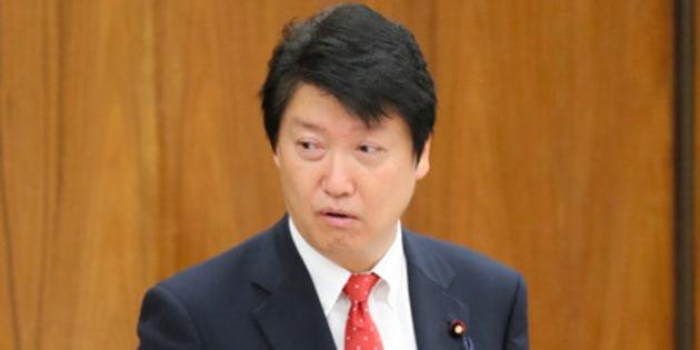 日本維新の会の足立康史氏