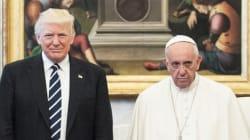 La cara del papa en la reunión con Trump tiene enloquecidos a los