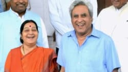 Asked About His Wife's Salary On Twitter, Sushma Swaraj's Husband Had An Epic