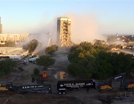 Failed building demolition earns nickname
