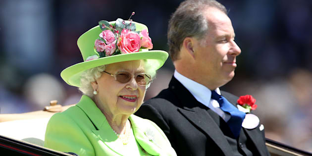 Queen Elizabeth II during day four of Royal Ascot at Ascot Racecourse.