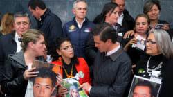 Esto pidieron familiares de los desaparecidos a Peña tras promulgar