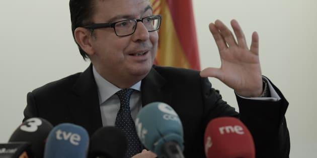 Román Escolano, ministro de Economía.