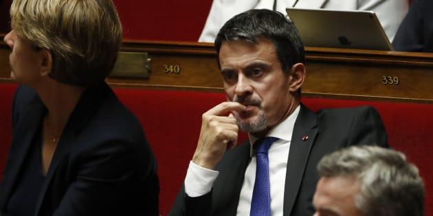 L'ancien premier ministre Manuel Valls, aujourd'hui député apparenté LREM.