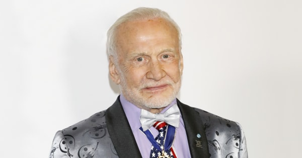 A look back at astronaut Buzz Aldrin's patriotic fashion