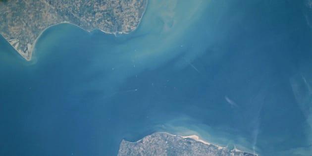 El estrecho de Pas-de-Calais.