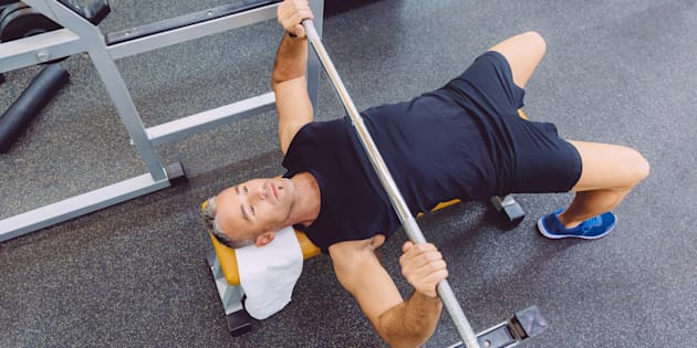 NeuroPhysics Therapy still involves regular moves like the bench press, just with more focus on the nervous system, not only the muscles.